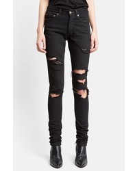 Destroyed skinny jeans medium 252247