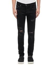 rag & bone Fit 0 Distressed Skinny Jeans