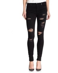 True Religion Halle Ripped Skinny Jeans