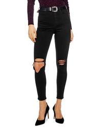 Topshop Jamie Wing Rip Skinny Jeans