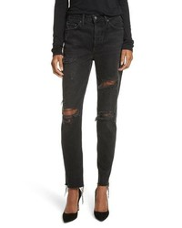 Karolina ripped rigid high waist skinny jeans medium 8680204