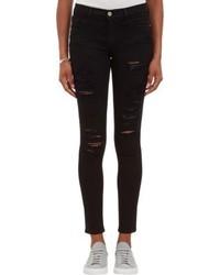 Frame Denim Le Skinny Jeans Black