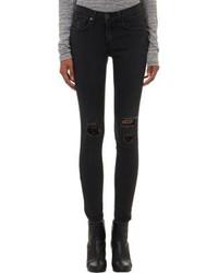 Rag and Bone Rag Bone Skinny Jeans Black