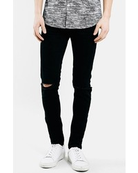 Ripped stretch skinny fit jeans medium 184167