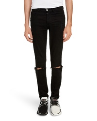 Givenchy Skinny Fit Distressed Jeans