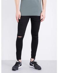Hera Spray On Rip Repair Slim Fit Skinny Jeans