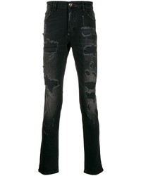 Philipp Plein Super Straight Cut Statet Jeans