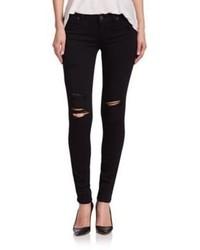Paige Verdugo Transcend Distressed Ultra Skinny Jeans