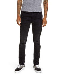 Hudson Jeans Zack Ripped Skinny Fit Jeans