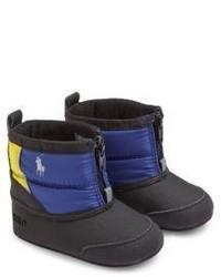 Ralph Lauren Babys Zip Front Snow Boots