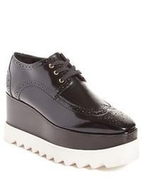Stella McCartney Elyse Brogue Platform Loafer