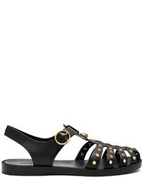 Gucci Stud Embellished Rubber Sandals