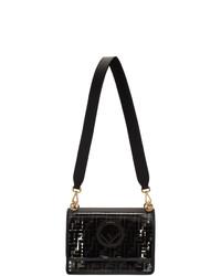 Fendi Transparent And Black Forever Kan I F Bag