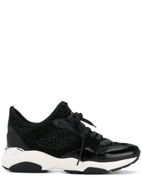 Salvatore Ferragamo Macram Lace Giolly Trainers