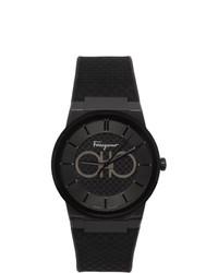 Salvatore Ferragamo Black Sapphire Watch