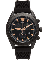 Versace Black V Chrono Watch