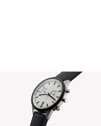 121686f06 ... Uniform Wares C41 Chronograph Watch In Pvd Grey With Brushed Milanese  Mesh Bracelet ...