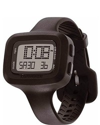 Converse Vr025001 Understatet Classic Digital And Black Silicone Strap Watch