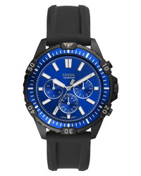 Fossil Garrett Chronograph Silicone Watch