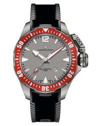 Hamilton Khaki Frogman Titanium Rubber Watch
