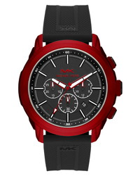 Michael Kors Kyle Chronograph Silicone Watch