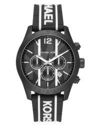 Michael Kors Layton Chronograph Silicone Watch