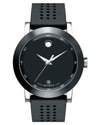 Movado Museum Rubber Watch
