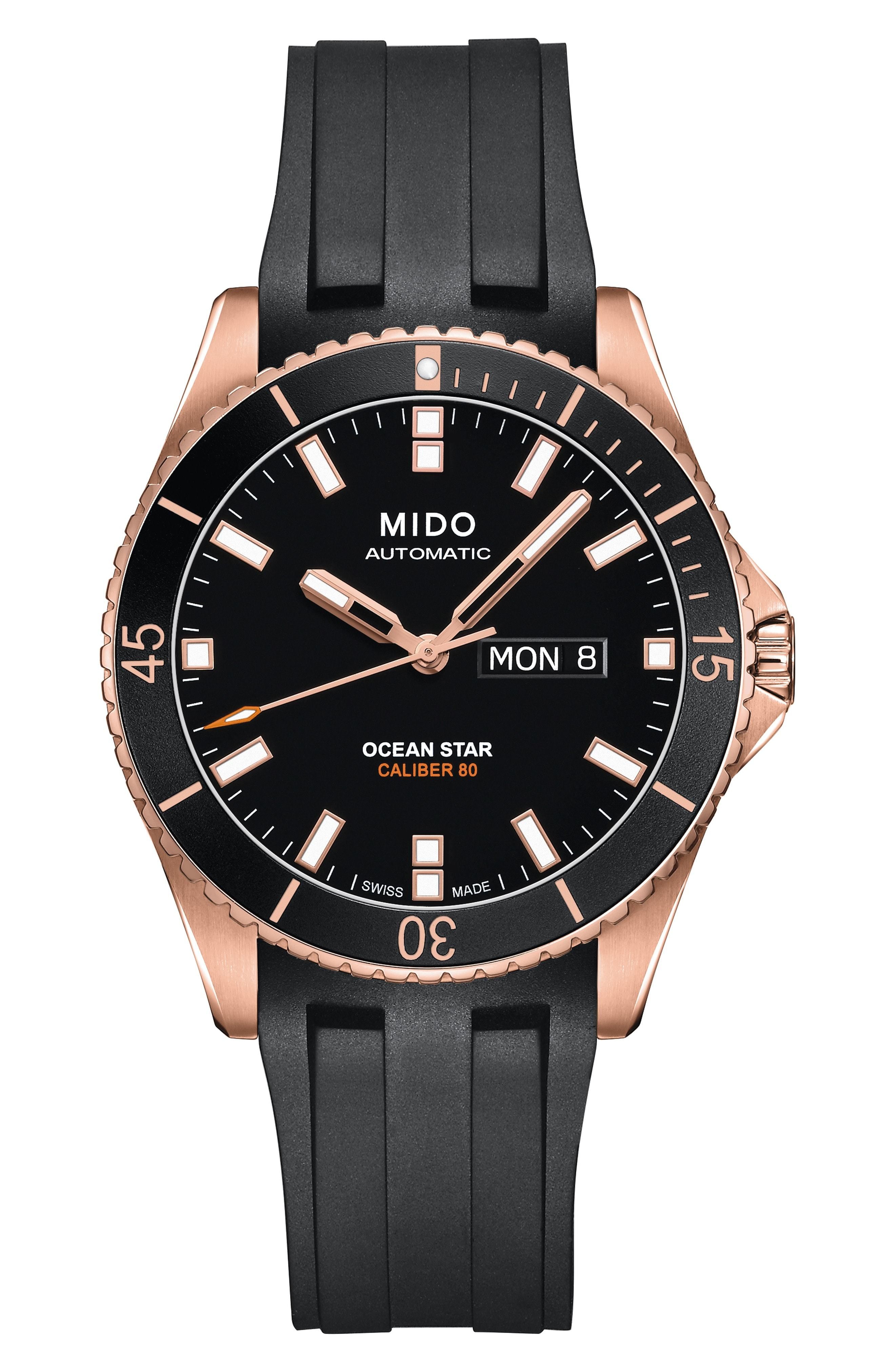 MIDO Ocean Star Automatic Rubber Watch