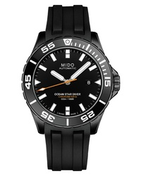 MIDO Ocean Star Diver 600 Automatic Rubber Strap Watch