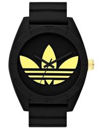 adidas Originals Santiago Xl Silicone Strap Watch 50mm