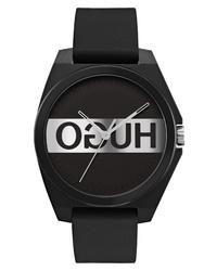 Hugo Play Reverse Logo Rubber Watch
