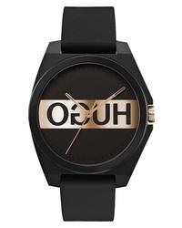 Hugo Play Rubber Watch