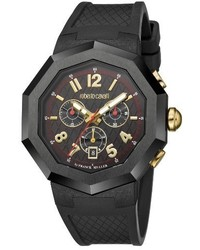Roberto cavalli by franck muller chronograph rubber strap watch 45mm medium 3681402