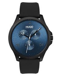 Hugo Silicone Strap Watch