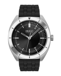 Hugo Style Rubber Watch