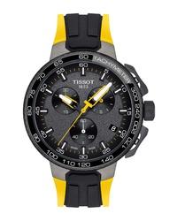 Tissot T Race Tour De France Chronograph Silicone Strap Watch