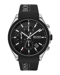 BOSS Velocity Chronograph Rubber Watch