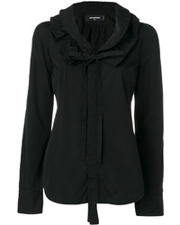 Dsquared2 Ruffled Trim Blouse