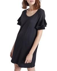 Current/Elliott The Ruffle Roadie T Shirt Dress
