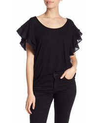 14th Union Mix Flutter Sleeve Tee