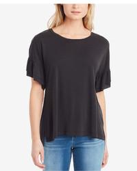 Jessica Simpson Olympia Ruffled Sleeve T Shirt