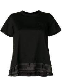 Ruffle panel t shirt medium 6992802