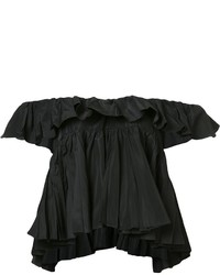 Tome Cropped Ruffle Top