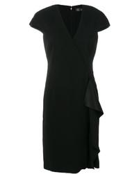 Versace Ruffle Detail Dress
