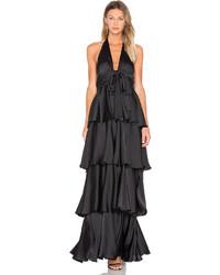 Jill Jill Stuart Layered Stain Gown