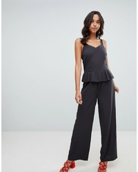 Vila Cami Jumpsuit With Ruffle Detail