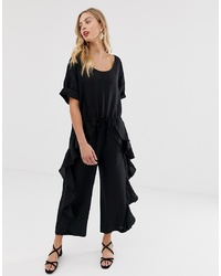 French Connection D Frill Leg Jumpsuit