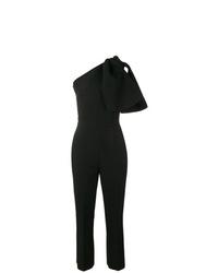 MSGM One Shoulder Tailored Jumpsuit