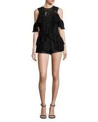 Alice McCall Youre Young So Have Fun Cold Shoulder Romper