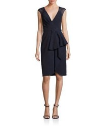Lace back sheath dress medium 976899